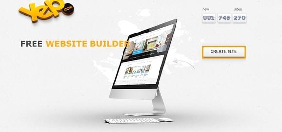 Yep - website builder