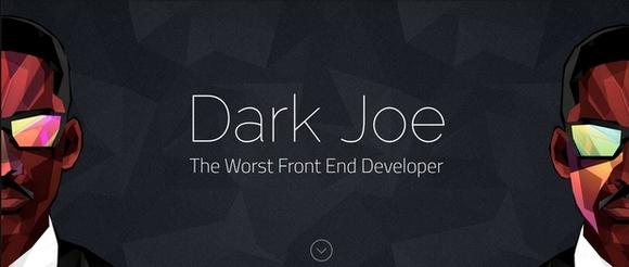 Dark Joe - best html5 templates