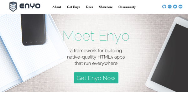 top best javascript frameworks for programmers 2014 - enyojs