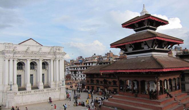Nepal-Kathmandu-Square