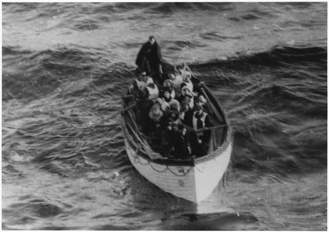 Lifeboats were not filled to capacity and was hurriedly brought down to the water caused by panic - if they were filled to capacity, many more would have been saved. Remember the emergency drill?