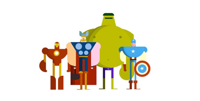 CSS The Avengers