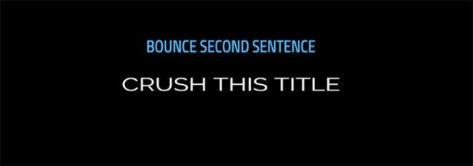 Bounce css Animation - v2