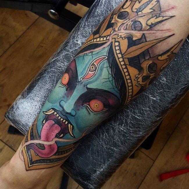 hindu tattoo9