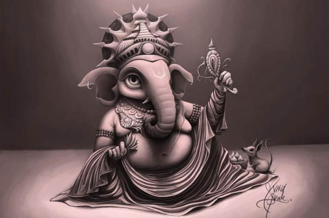 Why Is Lord Ganesha S Picture Always Seen With One Tusk Broken