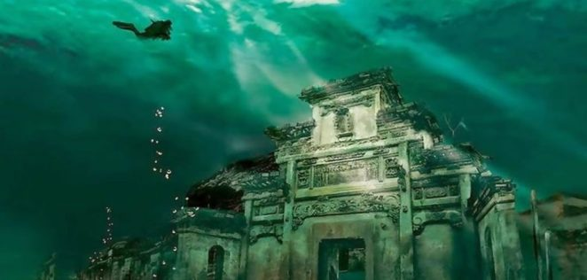 Existence of Lord Krishna - Underwater city