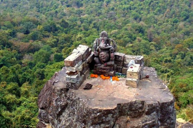 Ganesha Idol at 13000 feet