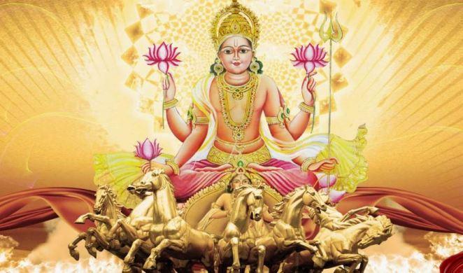 surya deva - sun god