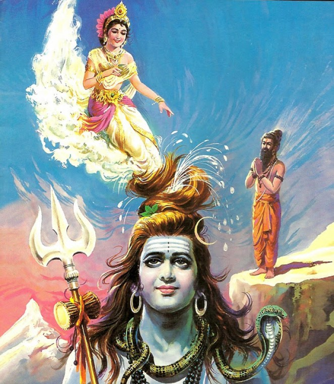 Get to know Why Ganga flows through Lord Shiva's Hair