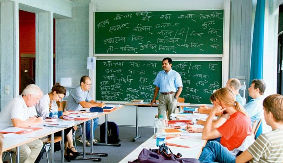 Image result for how German scholars are preserving and promoting the ancient sanskrit language