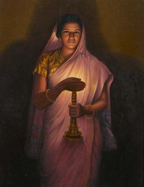 Glow of Hope – SL Haldankar Art