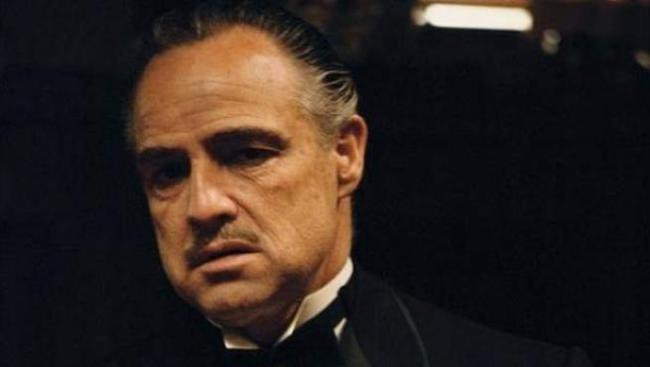 """Марлон Брандо """"Хрещений батько"""""""