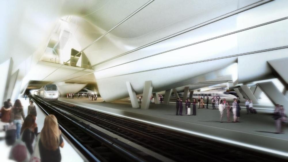 Nueva estación de tren de Vigo (II) (4/6)