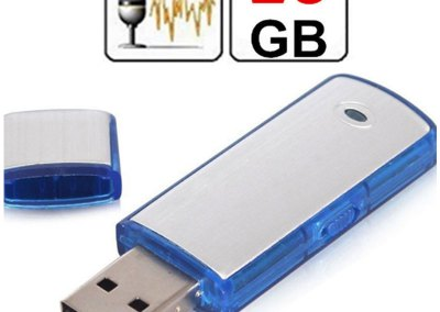 Grabadora de voz espía 16GB