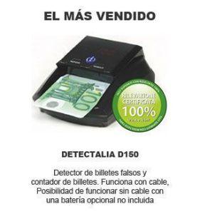 detector de billetes falsos mas vendido - Detectalia D150