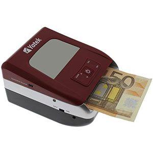 Detector de billetes falsos Euro actualizable Yatek SE-0706. Análisis detallado
