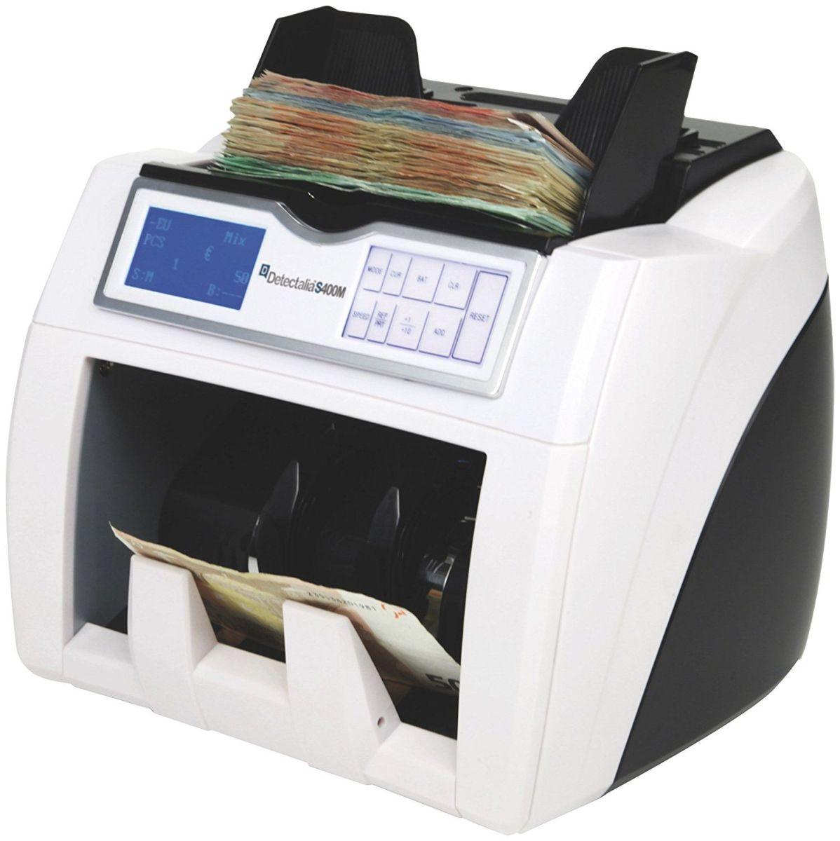 Análisis al completo del detector, contador y valorador de billetes Detectalia S400MD