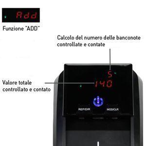 detector de billetes detectalia d150