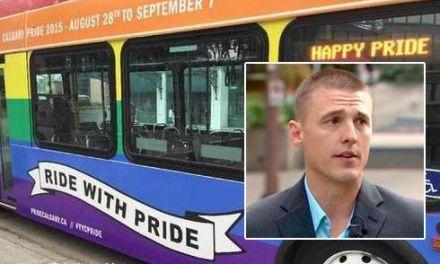 Chrześcijański kierowca odmówił kierowania autobusem promującym gay paradę.