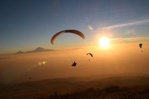 Le parapente et ses zones de vol à Ténérife