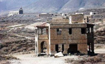 Abades, la ville fantôme - le sanatorium des lépreux  de l´île de Ténérife