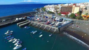 Le port de Playa san Juan Tenerife