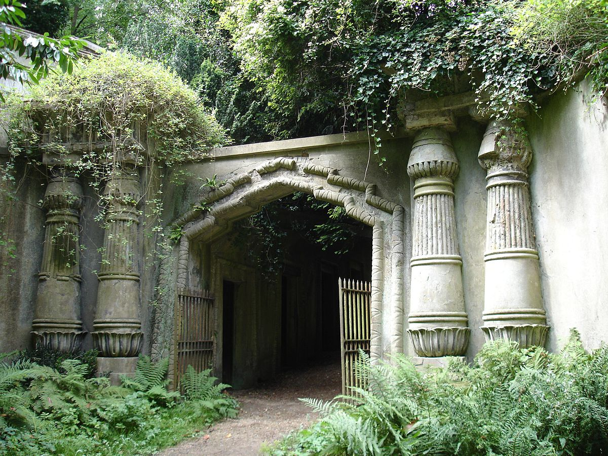 Lugares embrujados – Cementerio de Highgate