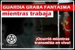 Guardia de Seguridad Graba Aterrador Fantasma