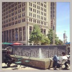 Fountain at Campus Martius