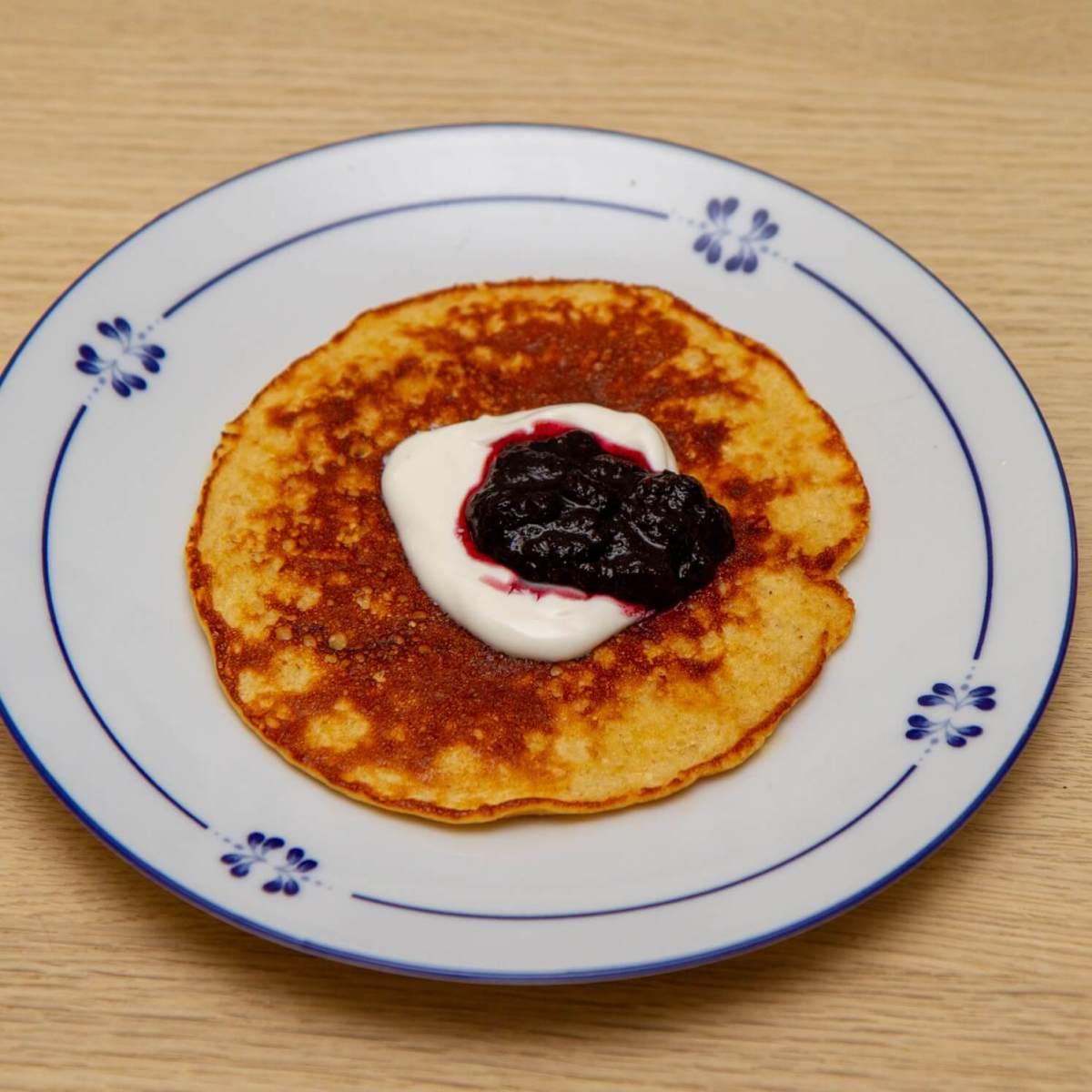 proteinrike pannekaker