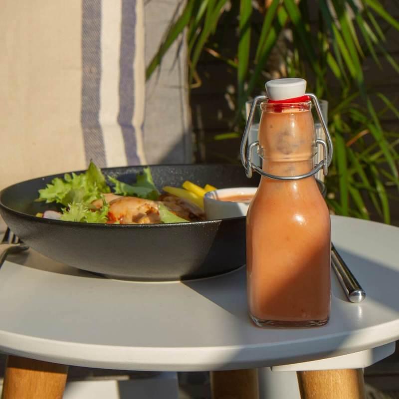 Rabarbravinaigrette til salat