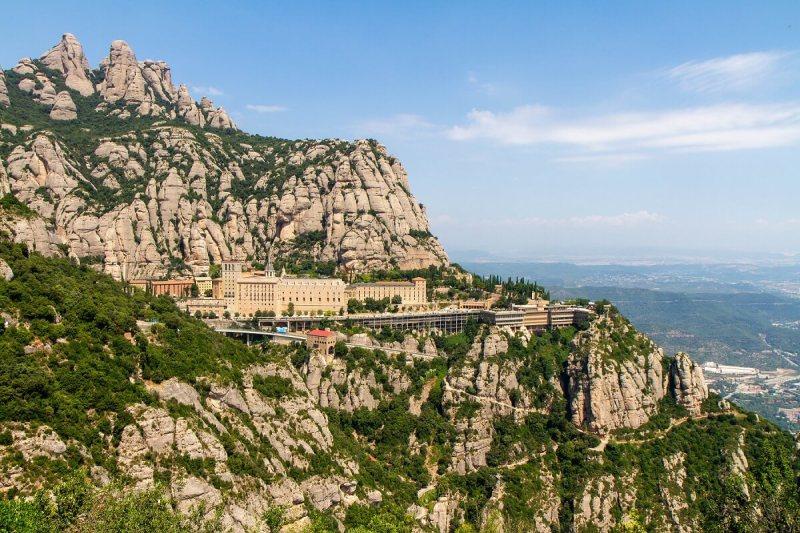 Klosteret i Montserrat