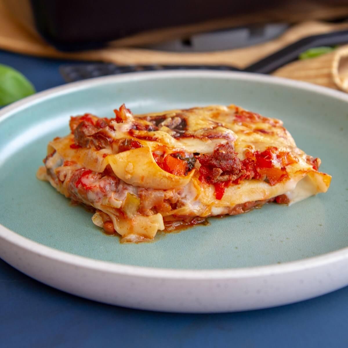 Den beste lasagnen