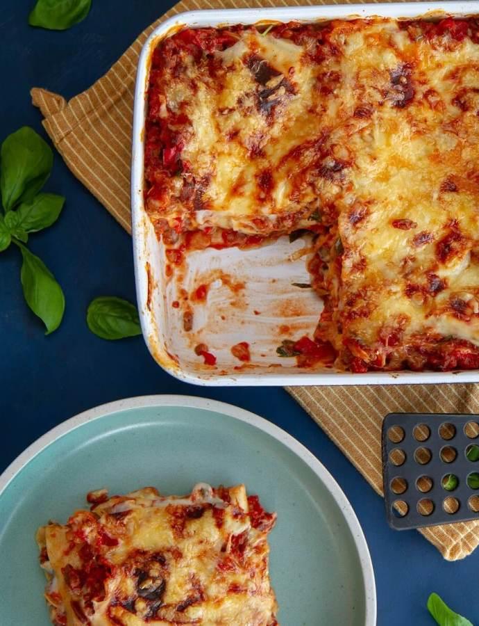 Det glade kjøkkens oppskrift på lasagne