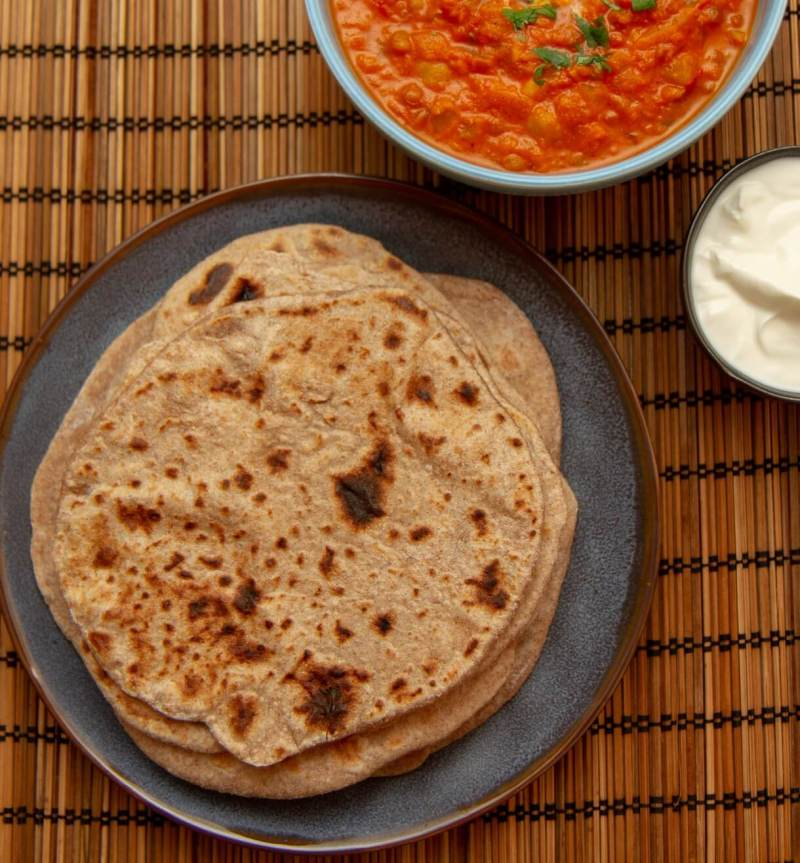 Chapati - enkelt indisk brød