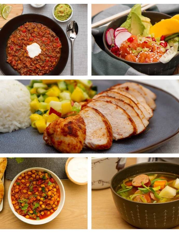 25 sunne og enkle middagsretter