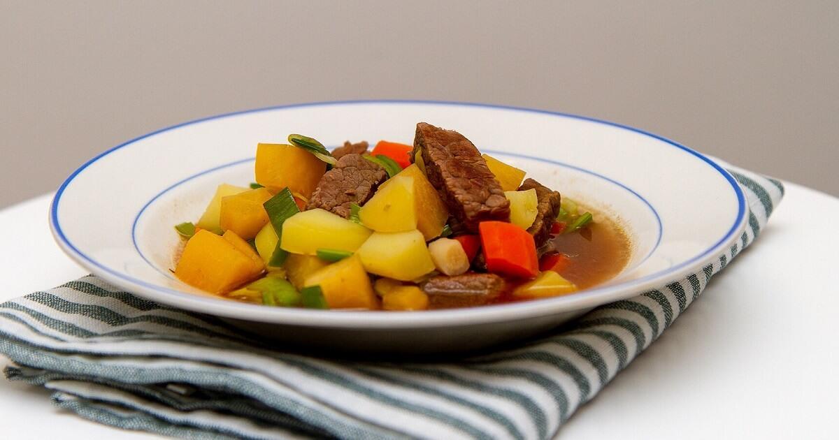Tradisjonell kjøttsuppe