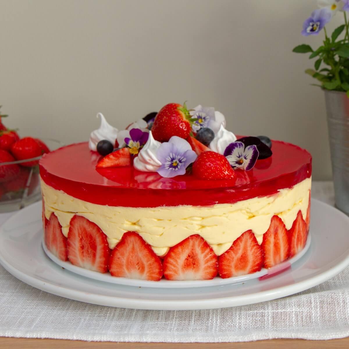 Sommerlig fraisier