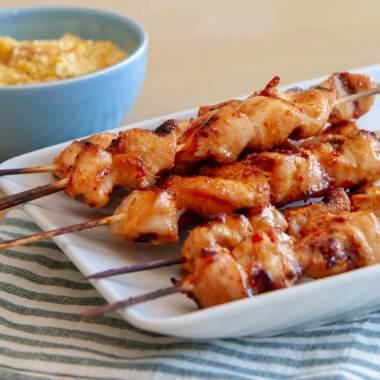 Asiatisk-inspirert grillspyd