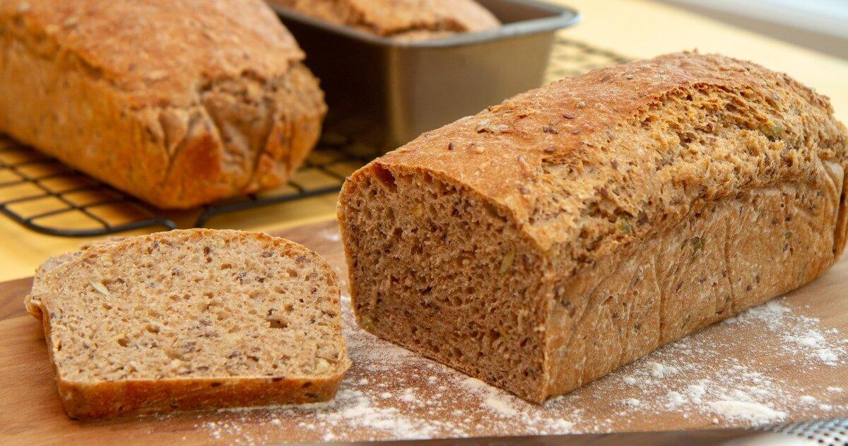 Lag brød uten kjøkkenmaskin