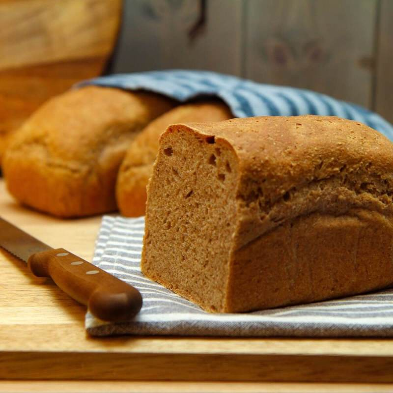 Brød med rug