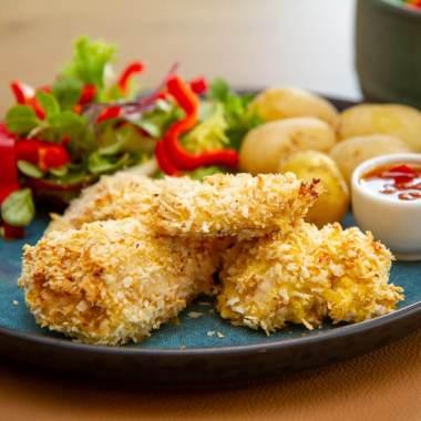 Panert kylling