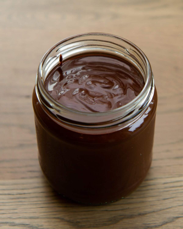Hasselnøttpålegg med sjokolade