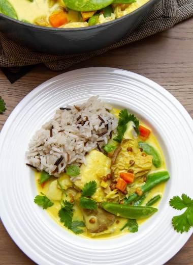 Thaigryte med torsk