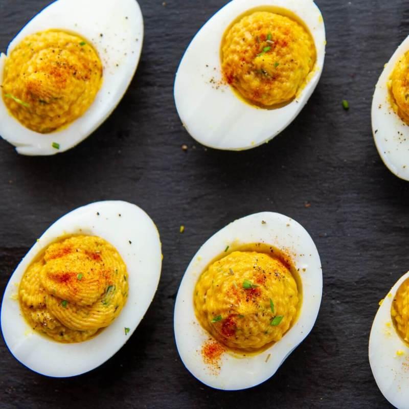 Djevelegg - fylte egg