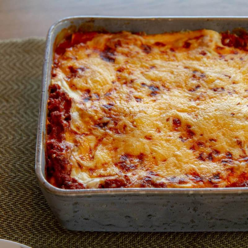 Barnevennlig lasagne uten grønnsaksbiter