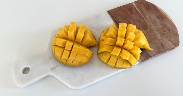 Tip til udskæring af mango til sund is med mango