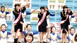 AKB48横山由依・向井地美音・西野未姫が警察署員と「恋チュン」動画が話題に