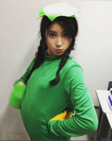 土屋太鳳がInstagramに河童コスプレ画像公開!twitterではカッパダンス動画を披露
