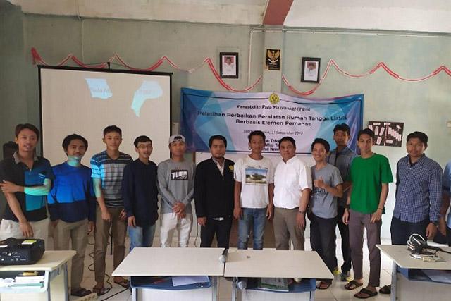 Warga Sawangan Apresiasi Pelatihan Toko Online dari Elektro UNJ